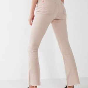 BDG Kick Flare High-Rise Cropped Corduroy Pant